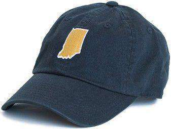 Hats/Visors - Indiana South Bend Gameday Hat In Navy By State Traditions