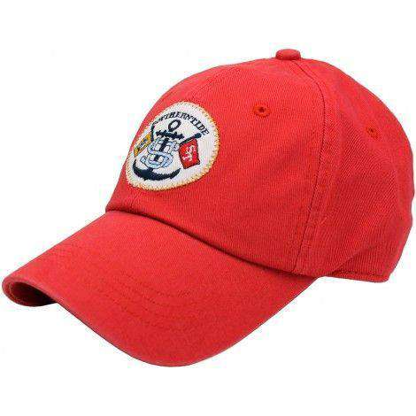 Hats/Visors - Intracoastal Waterway Hat In Red Current By Southern Tide