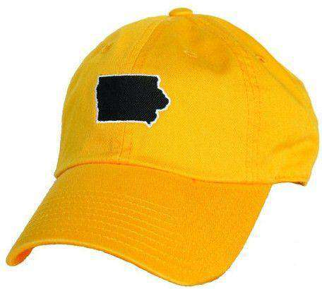 Iowa City Gameday Hat in Gold by State Traditions