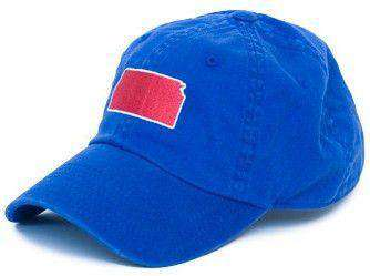Hats/Visors - Kansas Lawrence Gameday Hat In Blue By State Traditions