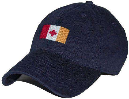 Hats/Visors - Kappa Alpha Order Needlepoint Hat In Navy By Smathers & Branson