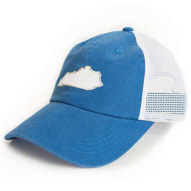 Kentucky Lexington Gameday Trucker Hat in Blue by State Traditions