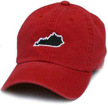 Hats/Visors - KY Louisville Gameday Hat In Red By State Traditions