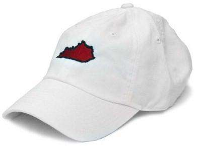 Hats/Visors - KY Louisville Gameday Hat In White By State Traditions