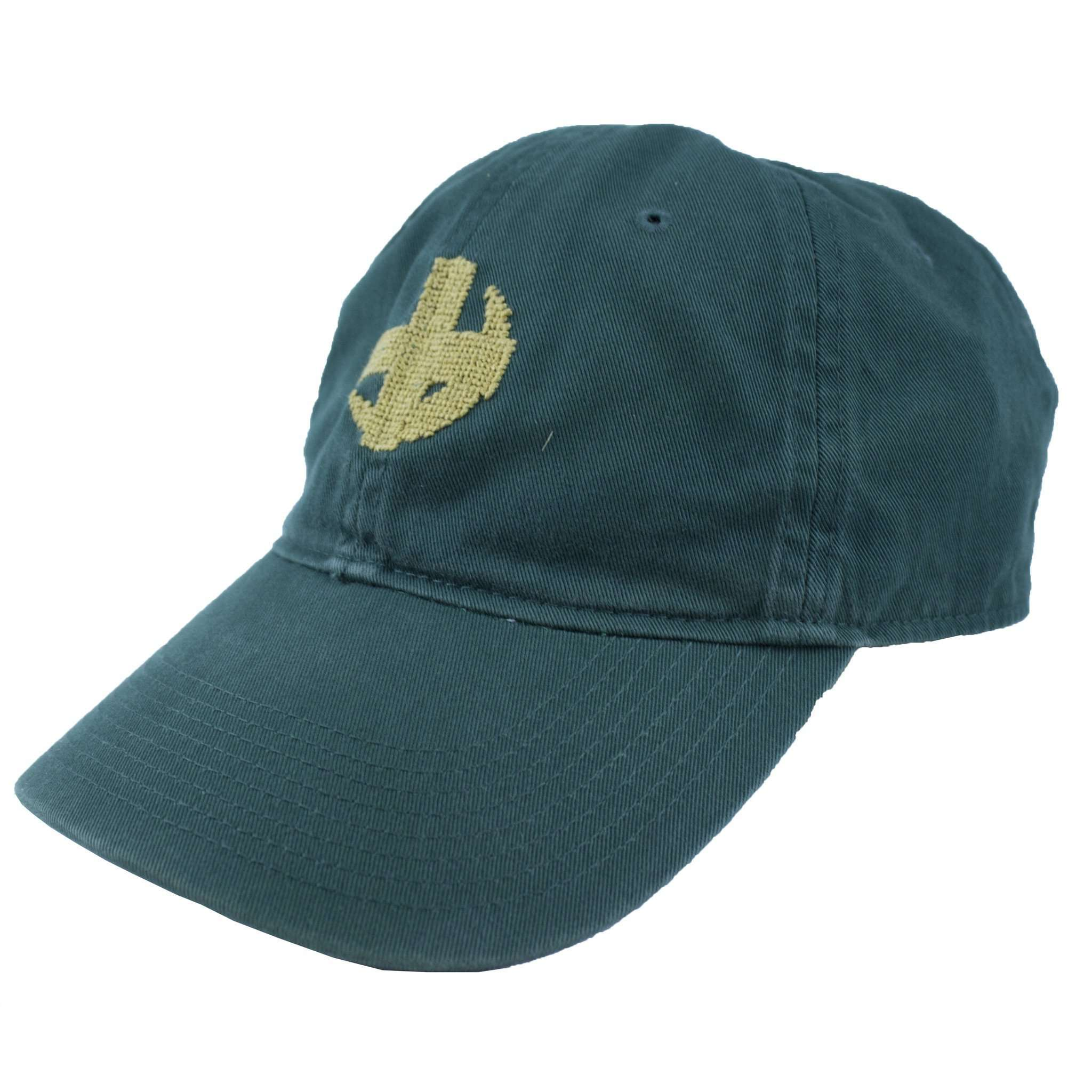 Hats/Visors - Lambda Chi Alpha Needlepoint Hat In Green By Smathers & Branson