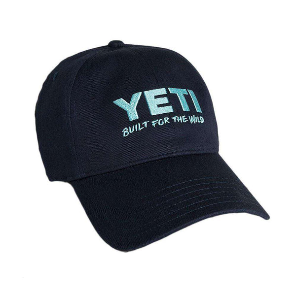 Hats/Visors - Lifestyle Full Panel Low Profile Hat In Navy By YETI