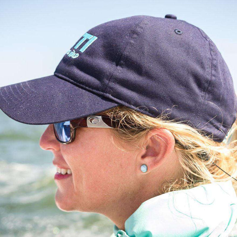 dd3cb5dbe08 Lifestyle Full Panel Low Profile Hat in Navy by YETI – Country Club Prep