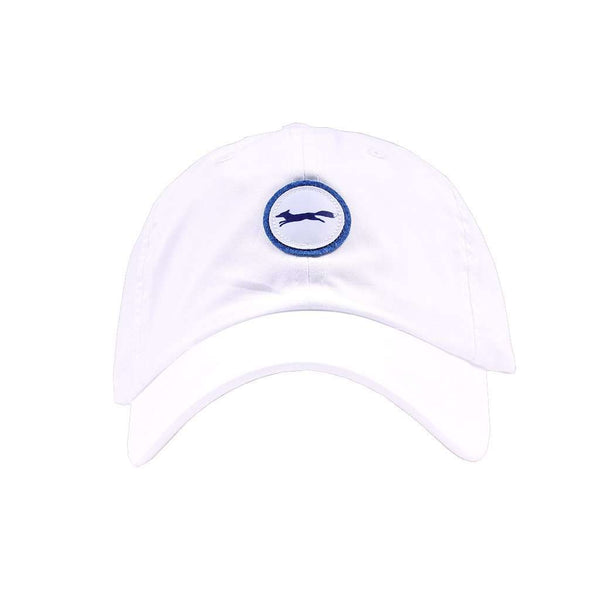 Limited Edition Longshanks Patch Logo Performance Hat in White by Imperial Headwear
