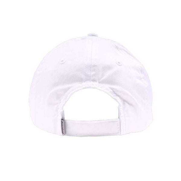 Hats/Visors - Limited Edition Longshanks Patch Logo Performance Hat In White By Imperial Headwear