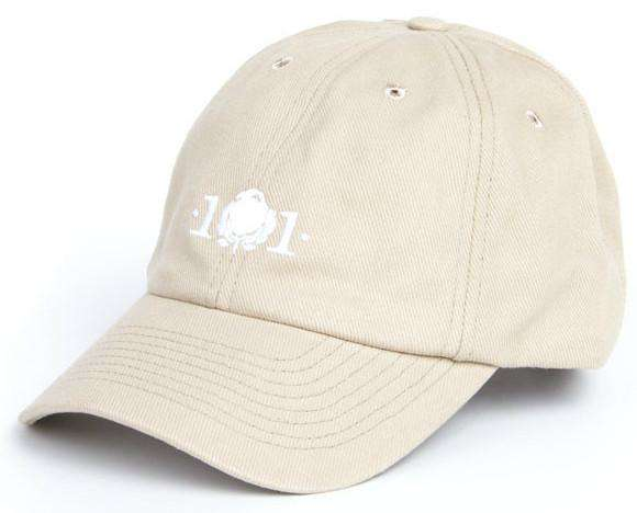 Logo Hat in Khaki by Cotton 101 - FINAL SALE