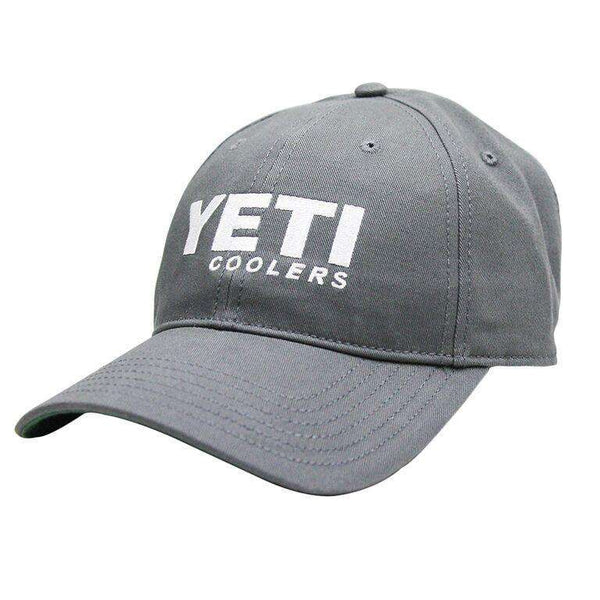 Hats/Visors - Low Profile Hat In Gunmetal Grey By YETI