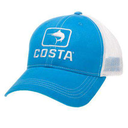 Marlin Trucker Hat in Blue by Costa Del Mar