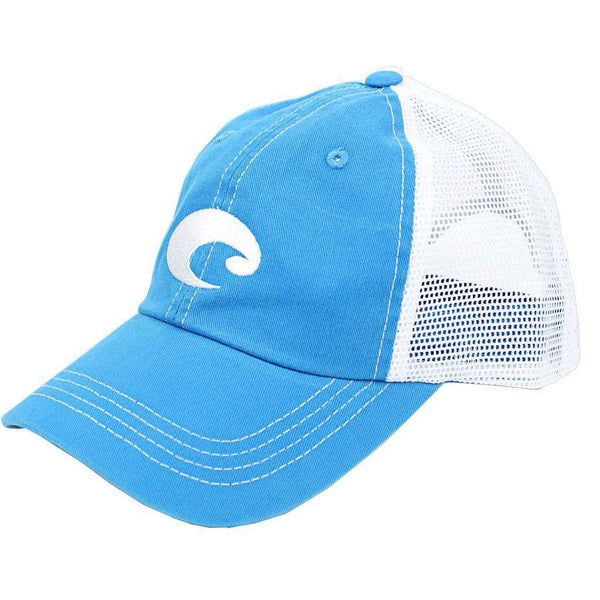 Hats/Visors - Mesh Hat In Blue Stone By Costa Del Mar