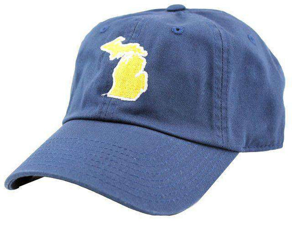 Hats/Visors - Michigan Ann Arbor Gameday Hat In Navy By State Traditions