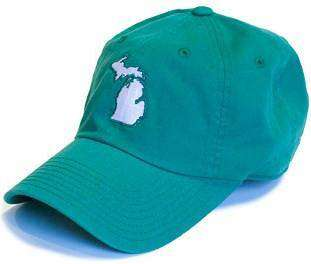 Hats/Visors - Michigan East Lansing Gameday Hat In Green By State Traditions