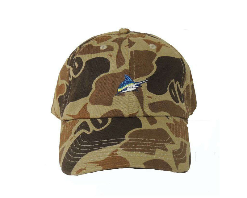 Mini Marlin Logo Hat in Camo by Atlantic Drift
