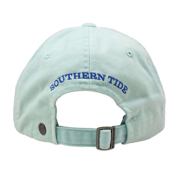 Hats/Visors - Mini Skipjack Hat In Haint Blue By Southern Tide
