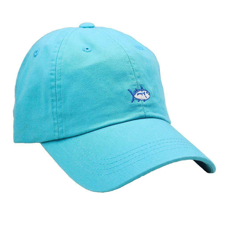 Hats/Visors - Mini Skipjack Hat In Turquoise By Southern Tide