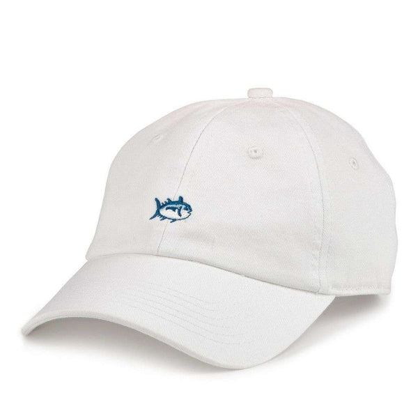 Hats/Visors - Mini Skipjack Hat In White By Southern Tide