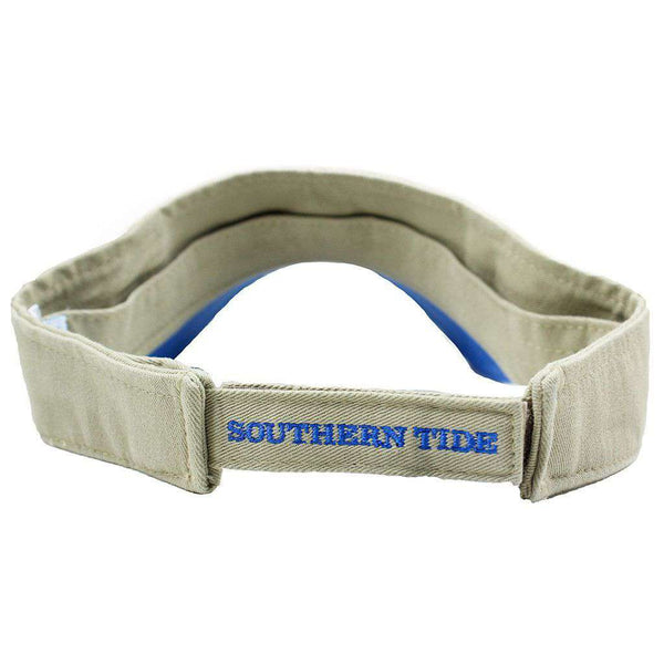 Hats/Visors - Mini Skipjack Visor In Khaki By Southern Tide