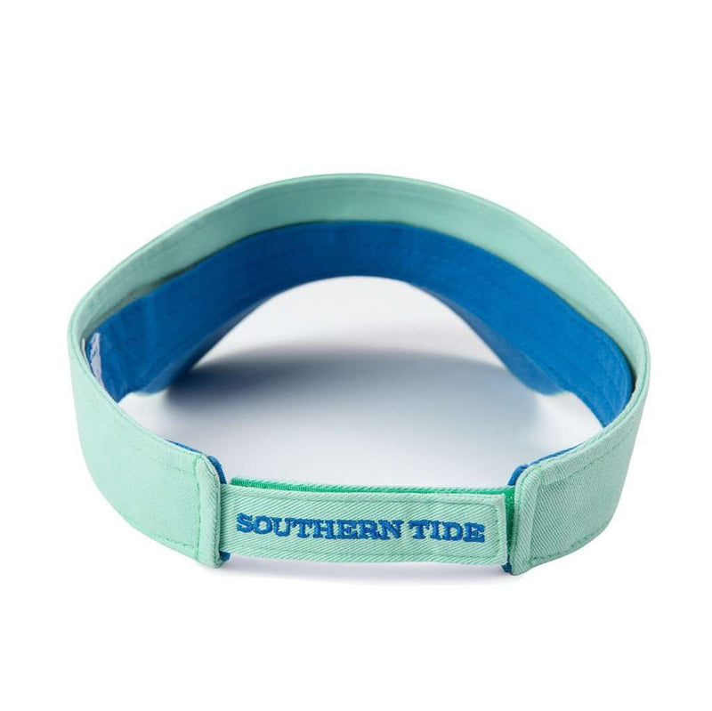 Hats/Visors - Mini Skipjack Visor In Mint By Southern Tide