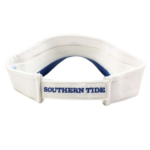 Hats/Visors - Mini Skipjack Visor In White By Southern Tide
