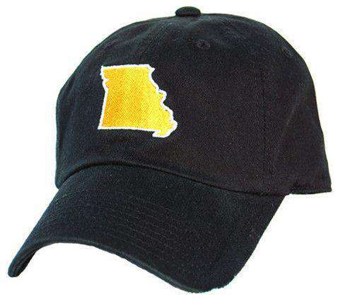 Hats/Visors - MO Columbia Gameday Hat In Black By State Traditions
