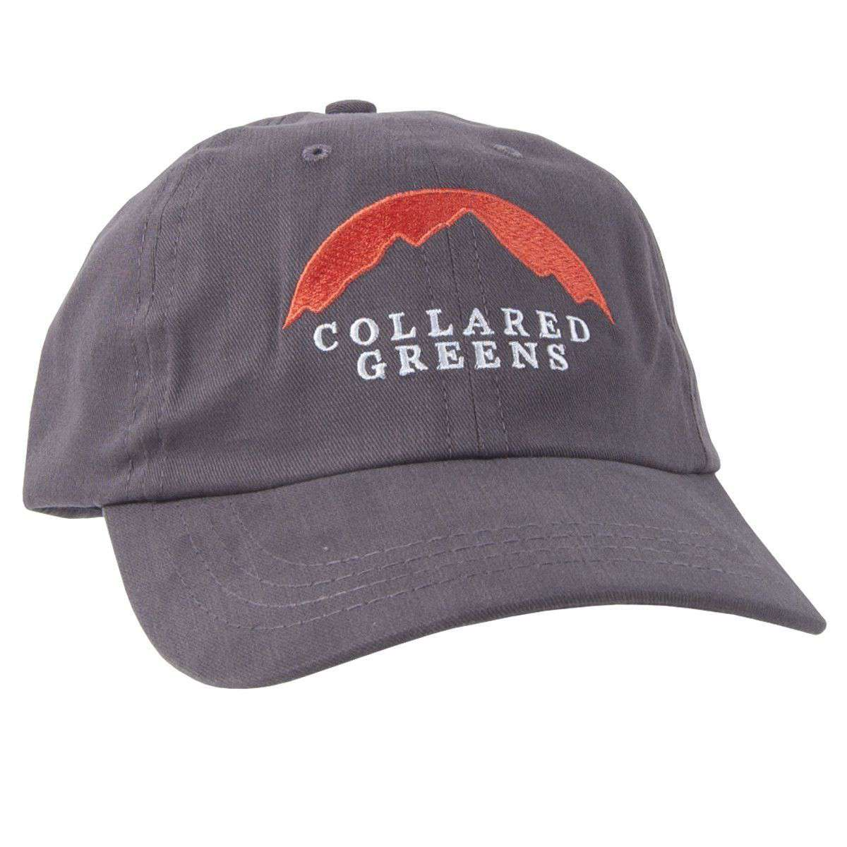 Hats/Visors - Mountain Summit Hat In Slate By Collared Greens