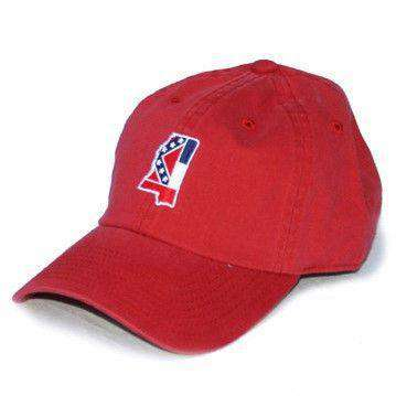 Hats/Visors - MS Traditional Hat In Red By State Traditions