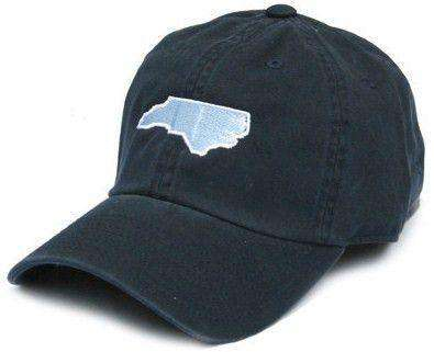 Hats/Visors - NC Chapel Hill Gameday Hat In Navy Blue By State Traditions
