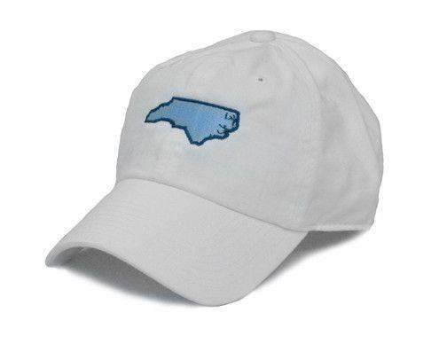 Hats/Visors - NC Chapel Hill Gameday White Hat By State Traditions
