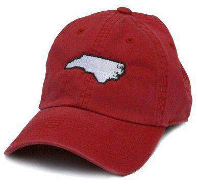 Hats/Visors - NC Raleigh Gameday Hat In Red By State Traditions
