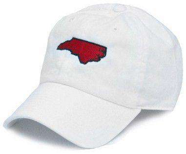 Hats/Visors - NC Raleigh Gameday Hat In White By State Traditions