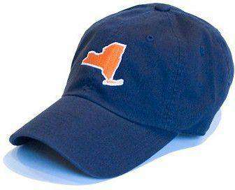 Hats/Visors - New York Syracuse Gameday Hat In Navy By State Traditions