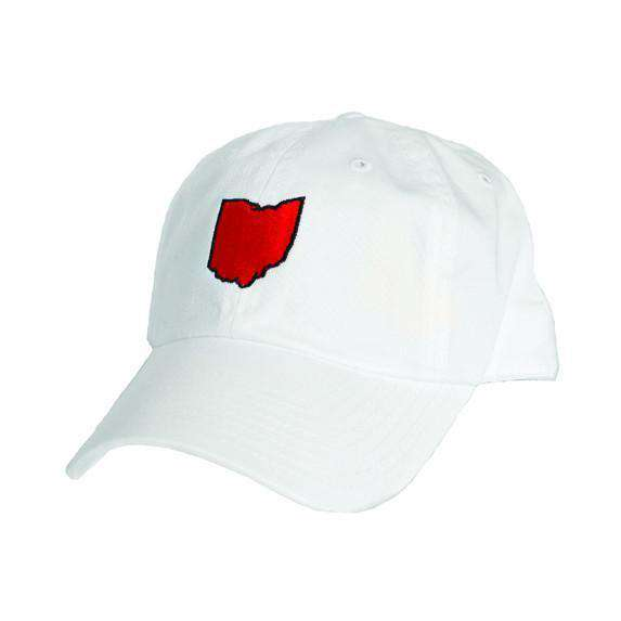 Ohio Cincinnati Gameday Hat in White by State Traditions