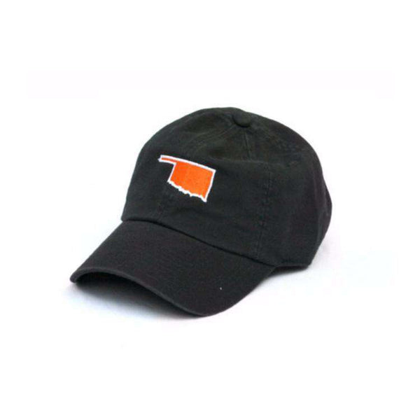 Hats/Visors - OK Stillwater Gameday Hat In Black By State Traditions