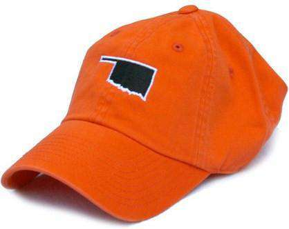 Hats/Visors - OK Stillwater Gameday Hat In Orange By State Traditions