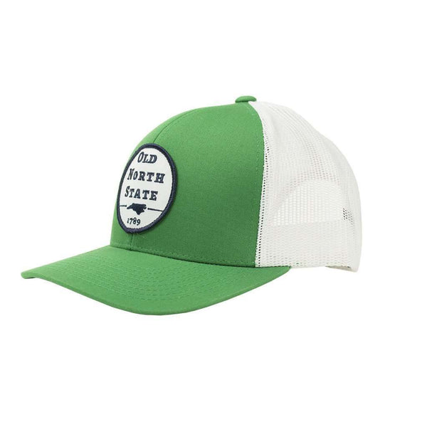 Old North State Mesh Back Hat in Kelly Green by Classic Carolinas