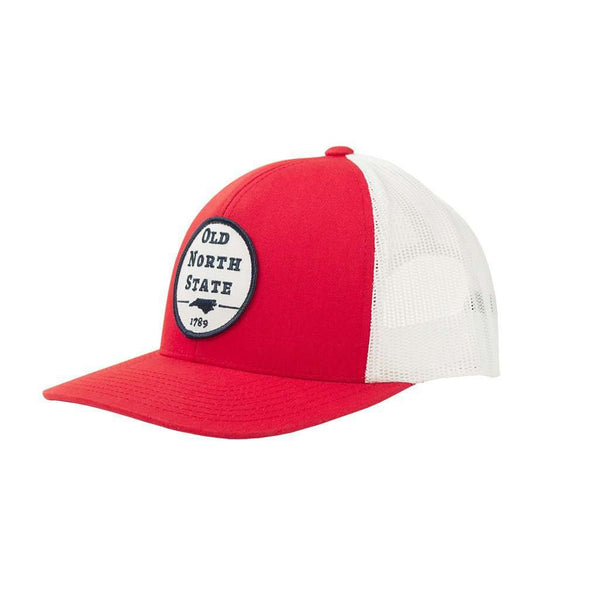 Old North State Mesh Back Hat in Red by Classic Carolinas