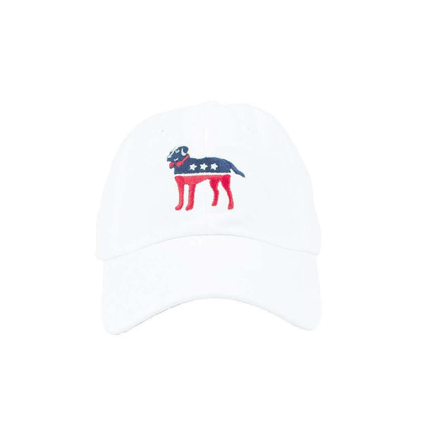 Hats/Visors - Party Animal Hat In White By Southern Proper