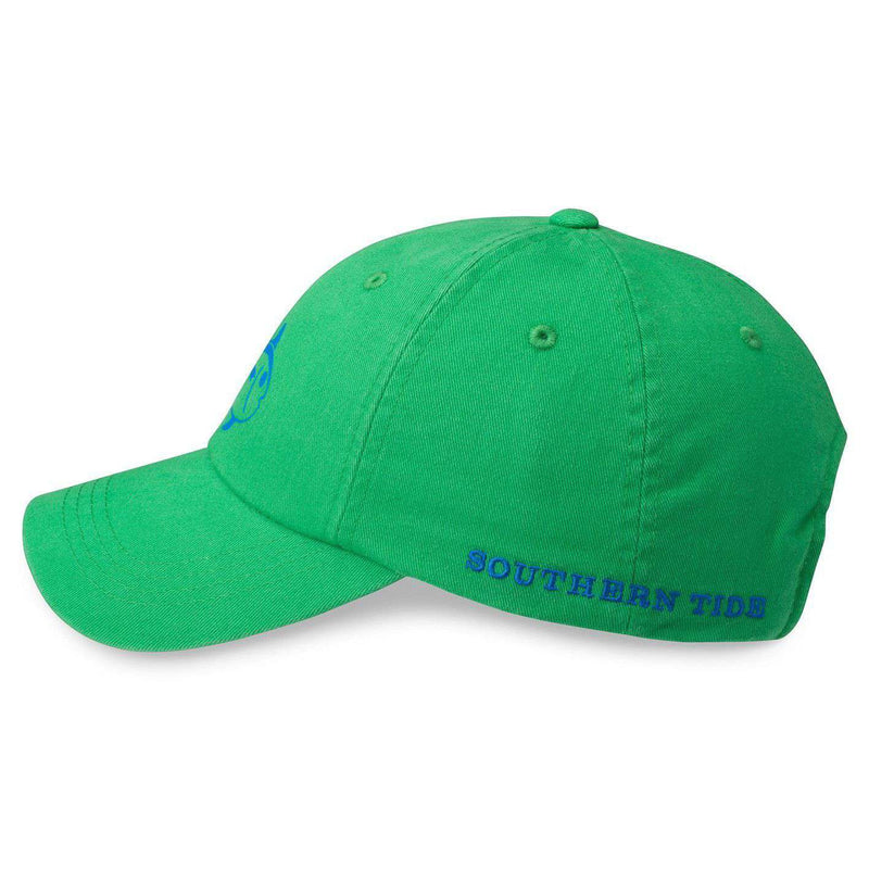 Printed Skipjack Hat in Green by Southern Tide