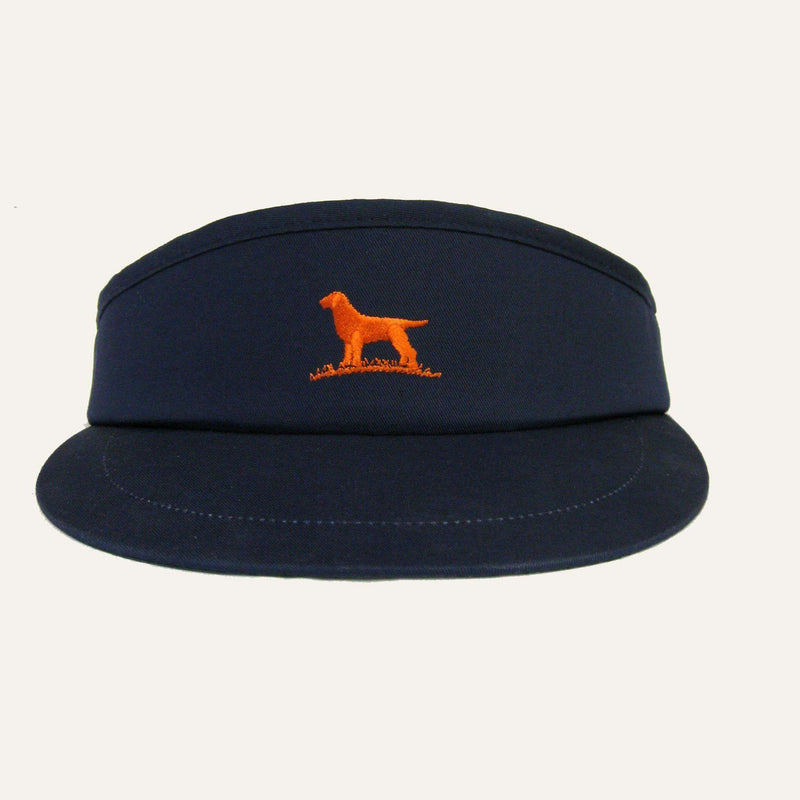 Pro Tour Visor in Navy & Orange by Over Under Clothing