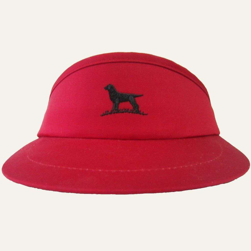 Hats/Visors - Pro Tour Visor In Red By Over Under Clothing
