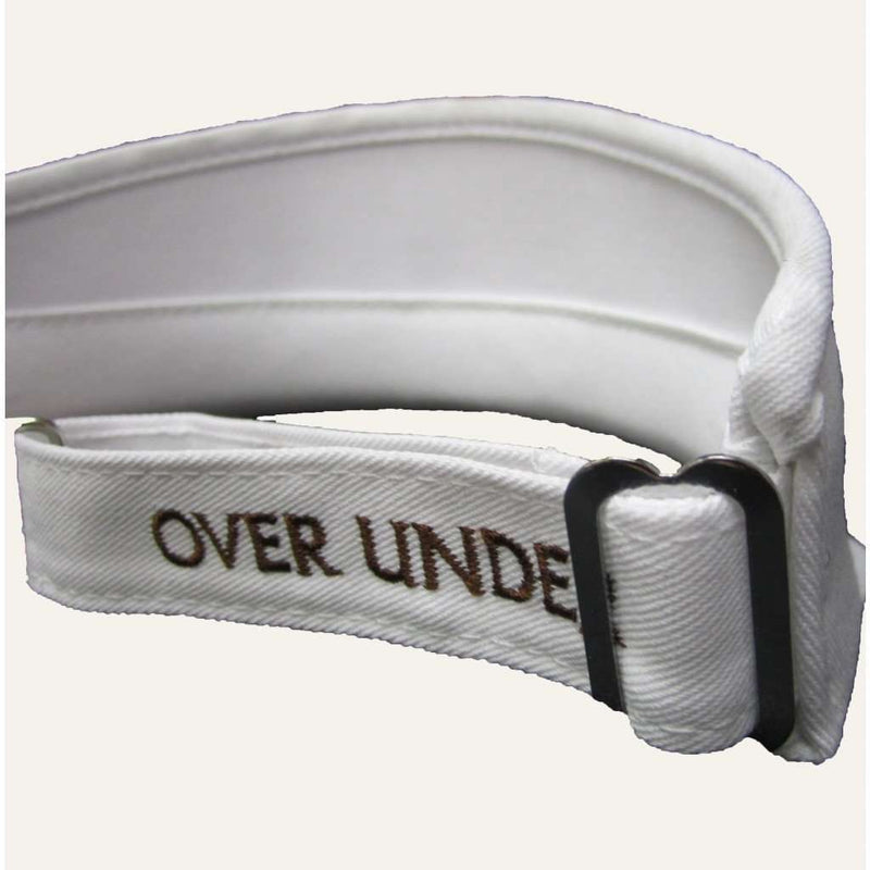 Pro Tour Visor in White by Over Under Clothing