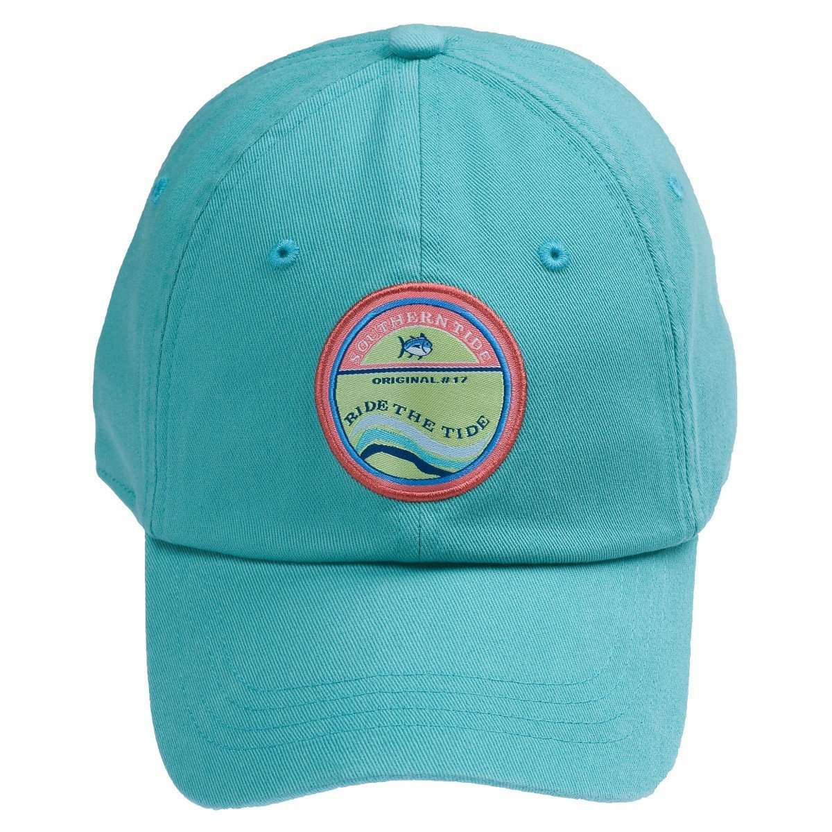 Hats/Visors - Ride The Tide Hat In Teal By Southern Tide
