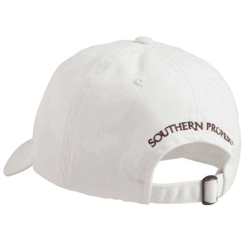 Hats/Visors - Savannah Bourbon Recipe Hat In White By Southern Proper