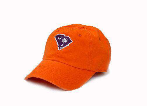 Hats/Visors - SC Clemson Gameday Hat In Orange By State Traditions