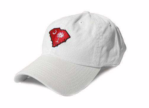 Hats/Visors - SC Columbia Gameday White Hat By State Traditions