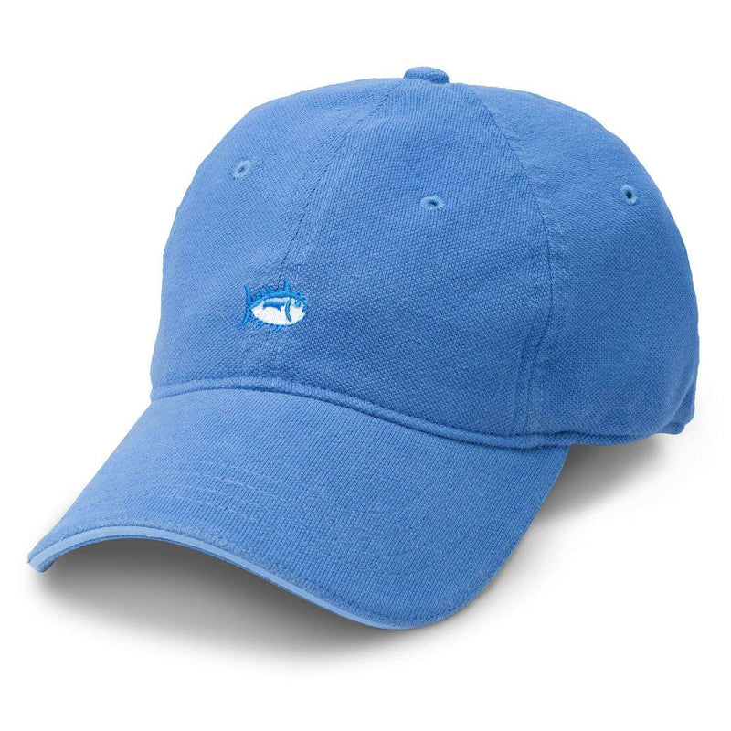Skipjack Pique Fitted Hat in Blue by Southern Tide