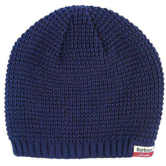 Sporting Outlast Beanie in Navy by Barbour